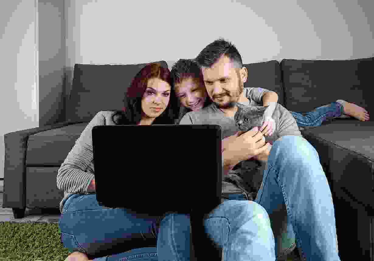 Family chat online